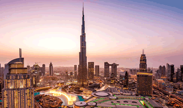 Dubai :  Most visited cities in the world